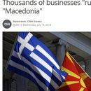 Речиси 4.000 грчки компании во опасност да го загубат терминот Македонија од своето име или производ