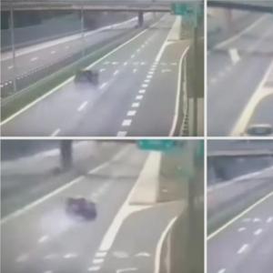 Вознемирувачко видео: Со БМВ се заби во банкина на обиколница- однесе во смрт 3 девојки, а тој преживеа