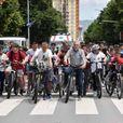 Времен сообраќаен режим во Скопје, поради одржување на велосипедска трка