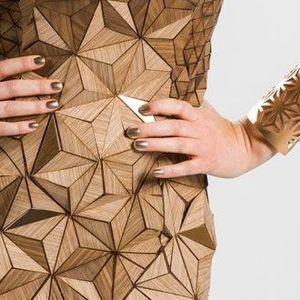 Модни парчиња од дрво за тренди изглед