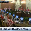 (ФОТО) Хрватските министри во дресови одржаа седница на Влада