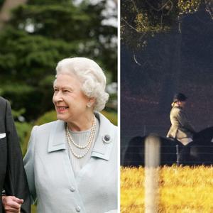 (Фото) Кралицата Елизабета јава коњ околу дворецот Виндѕор