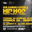 Таткото на хип хопот Грендмастер Флеш на 26 февруари во Скопје