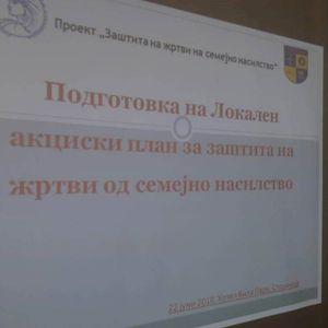Во Струмица се подготвува локален акциски план за заштита на жртви на семејно насилство