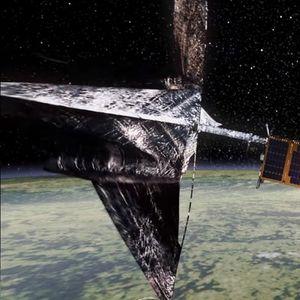 Сателит почнува лов на вселенски отпад со харпун (ВИДЕО)