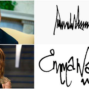 Меган е несигурна, Трамп е моќен алфа маж: Какви тајни открива потписот на познатите за нив?