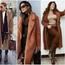Крзнен капут во боја на карамела – модно парче кое вреди да го грабнете на попуст (фото)