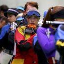 Нина Балабан 11-та со воздушна пушка на Медитеранските игри во Тарагона