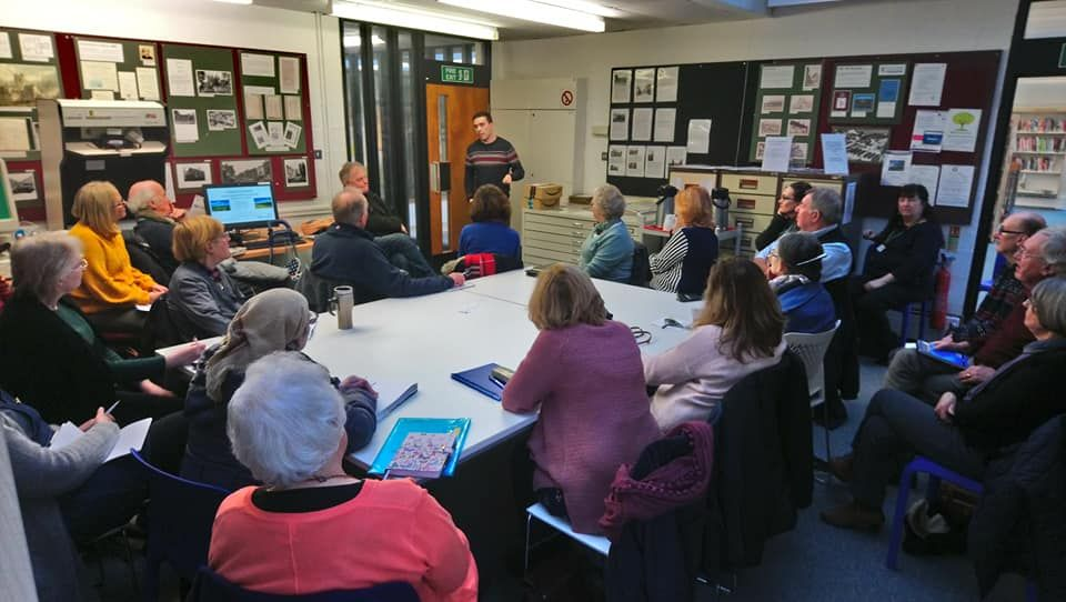 My talk at Nantwich Library in Nantwich, Cheshire
