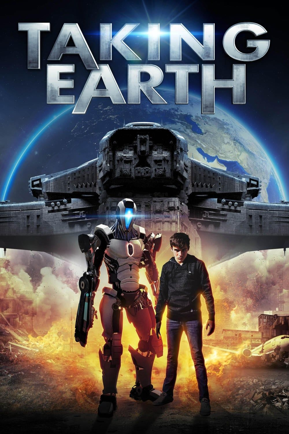 Taking Earth  streaming