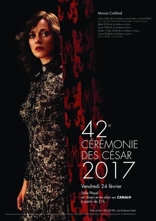 La 42e Cérémonie des César  streaming
