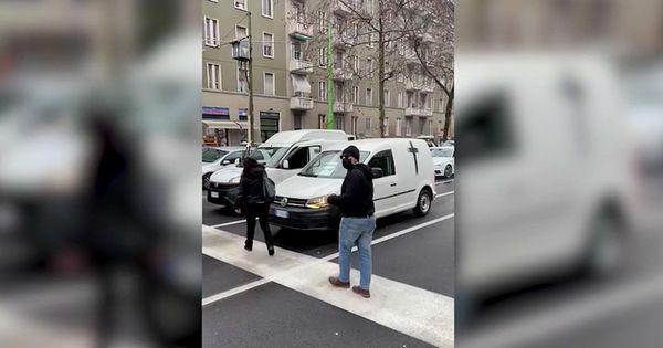 Traffico bloccato a Milano per la protesta dei ristoratori