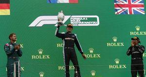 F1, Ocon vince Gp Ungheria dopo l'incidente-strike di Bottas e Stroll
