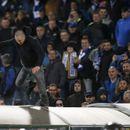 Скачащият върху тунела на стадиона фен на Левски обиколи света