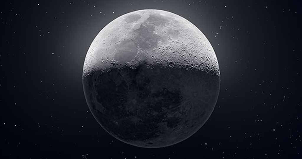 I Took 50,000 Individual Photos And Compiled Them To Create This Image Of The Moon