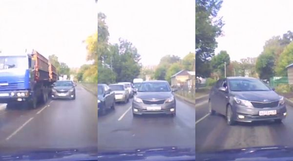 """La mossa """"furbetta"""" per evitare il traffico si rivela un fallimento totale"""