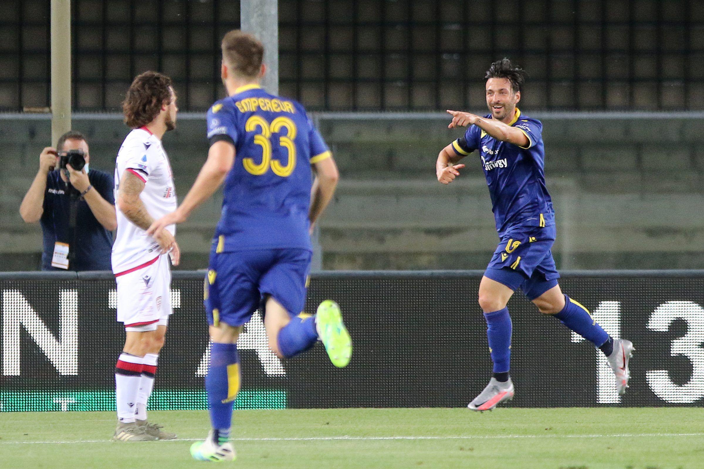 Serie Verona batte Cagliari 2