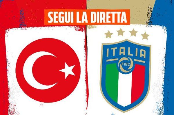 Diretta Turchia-Italia ore 21 su Rai1, iniziano gli Europei: formazioni ufficiali e risultato live di Euro 2020