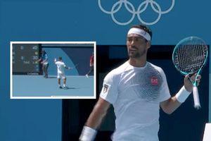"""""""Sei un frocio, sei un frocio"""": Fognini sbaglia e passa ogni limite alle Olimpiadi"""