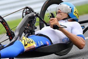 Italia show nel ciclismo alle Paralimpiadi: argento per Mazzone, Cornegliani e Porcellato