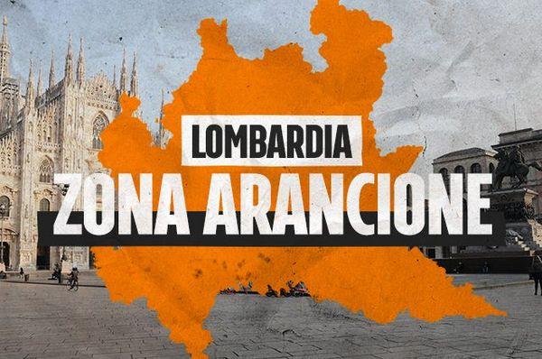 Da oggi 12 aprile la Lombardia torna in zona arancione, le nuove regole per spostamenti e negozi