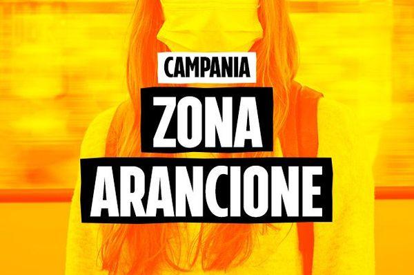 Oggi Campania in zona arancione Covid. Ma Napoli e provincia sono ancora da zona rossa