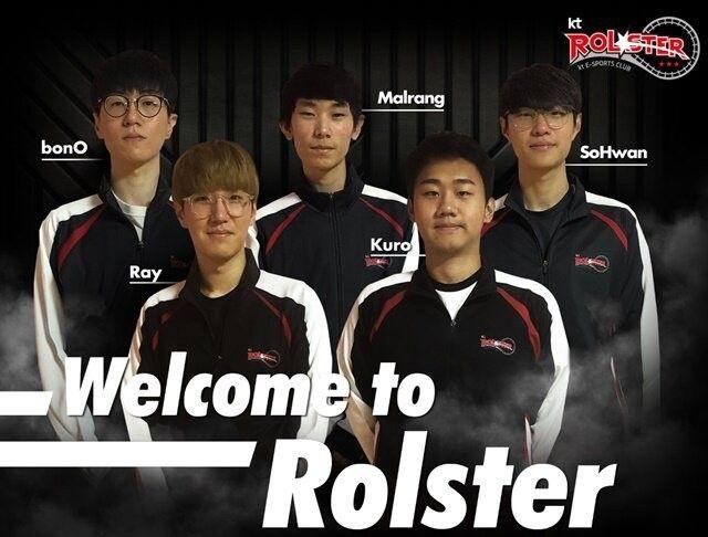 [英雄聯盟LCK] KT Rolster宣布簽下五名新援  新賽季大名單出爐