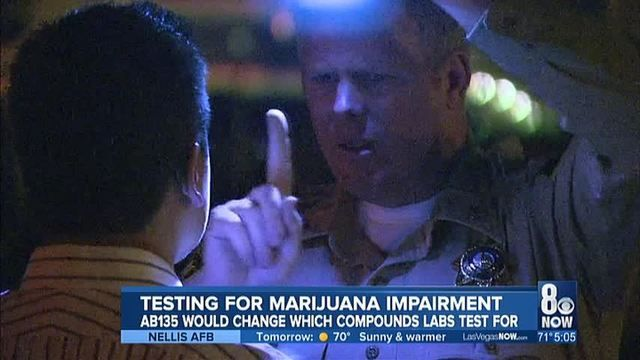 AB135 bill to change what marijuana components are tested to look for impairment