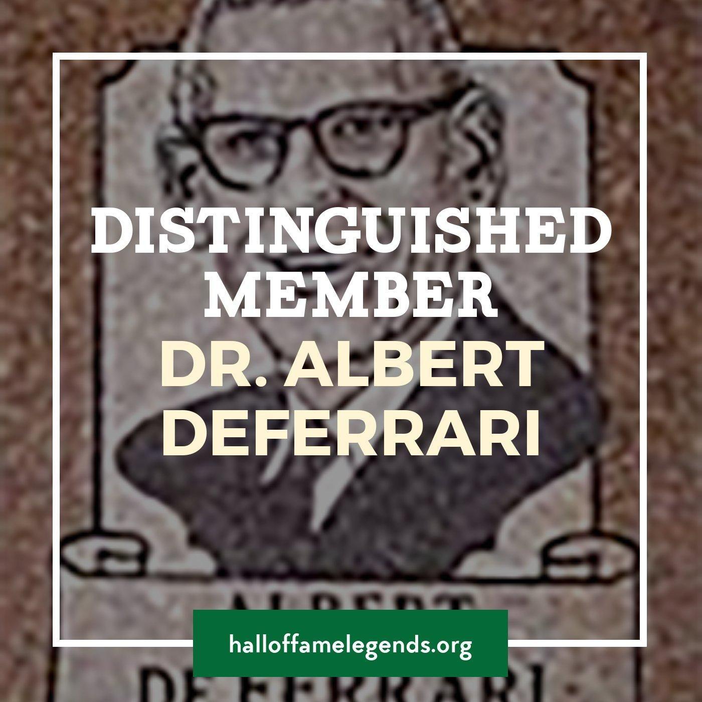 1979 Distinguished Member Dr. Albert deFerrari
