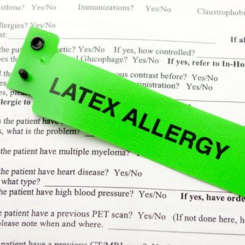 Managing Patients With a Latex Allergy