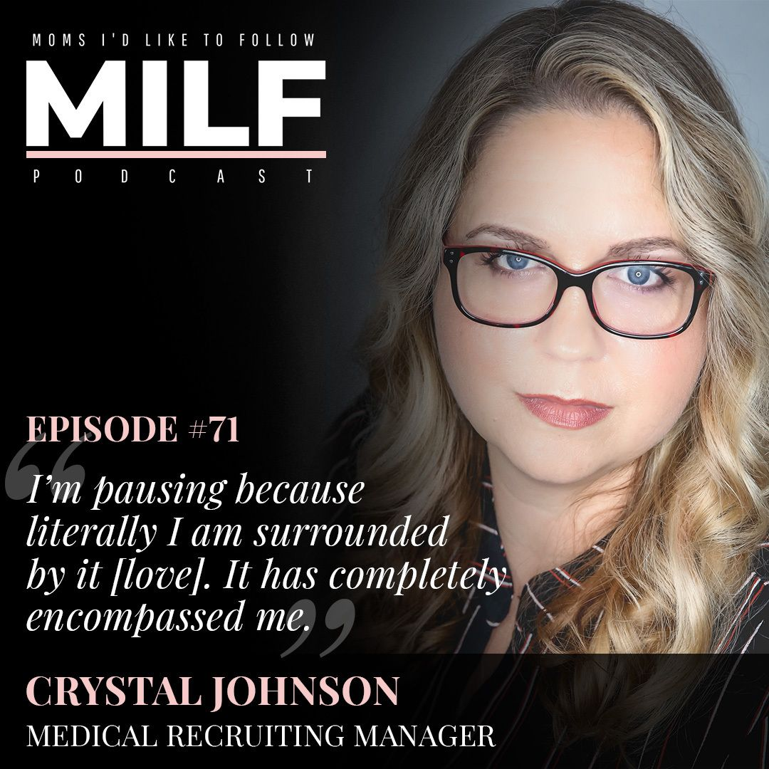 071 - Profound Loss, Grief and Finding Grace with Crystal Johnson