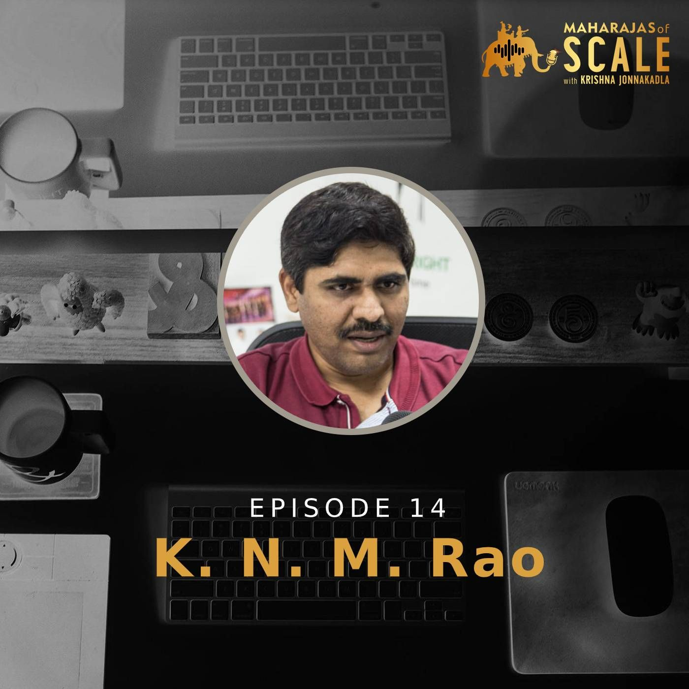 Ep.14 KNM Rao of Quick Ride : Farming to a Tech Entrepreneur and putting a dent in India's Urban mobility problem