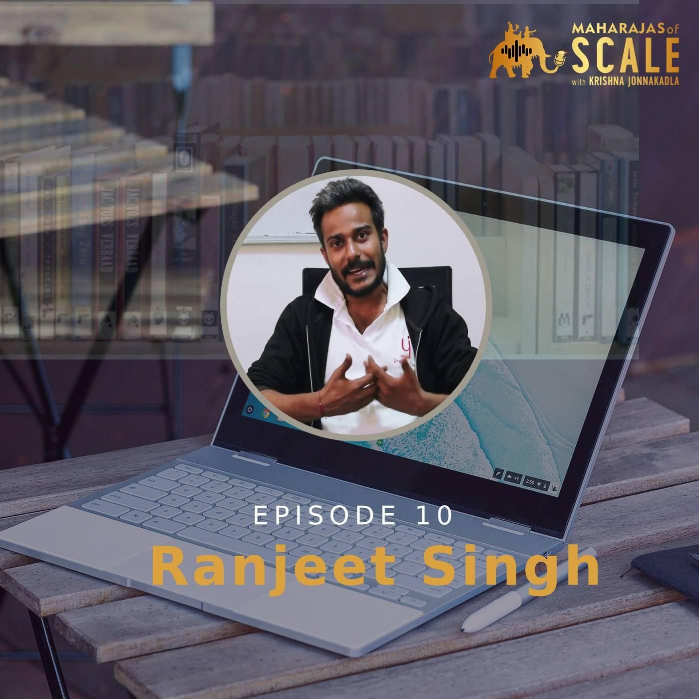 Story Telling at Scale by Solving The Access Problem at Scale for Indian Language content with Ranjeet Pratap Singh of Pratilipi