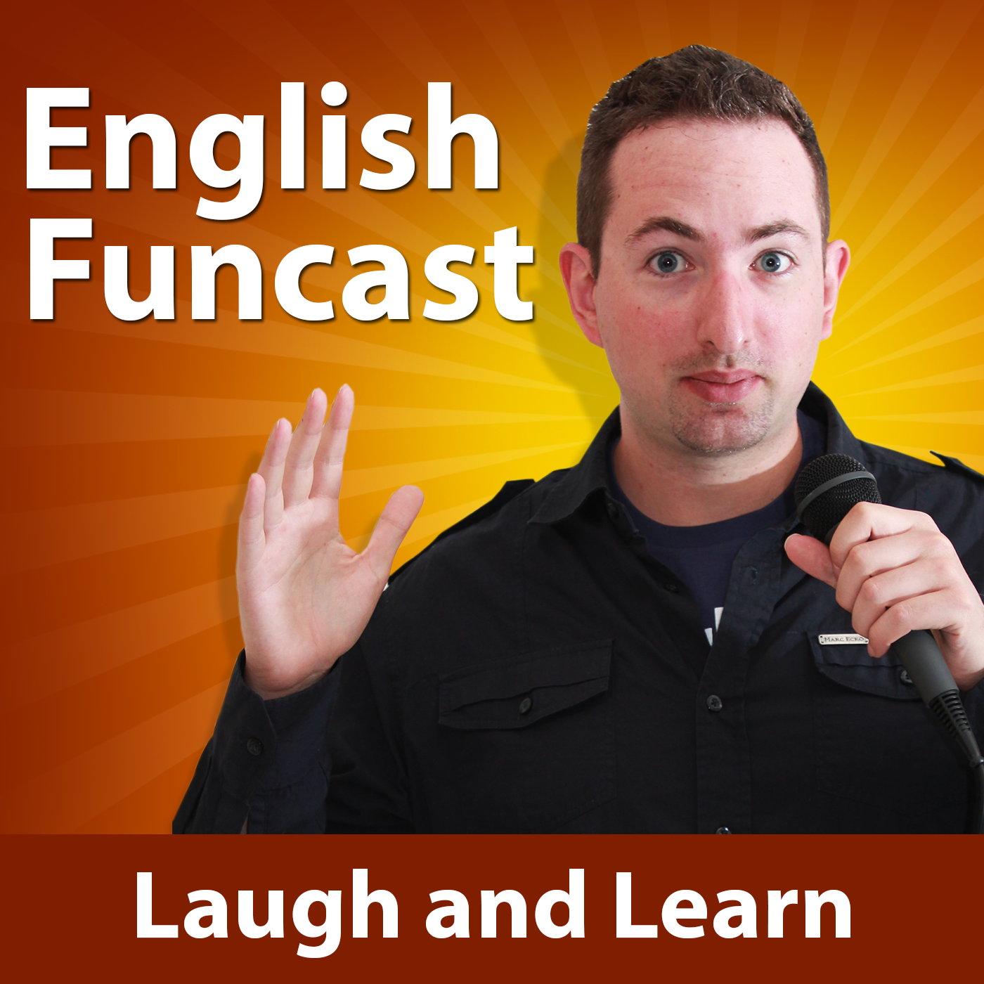Learn English Funcast #142 - Star Wars feuds, the angry plumber, and a girls love for chickens