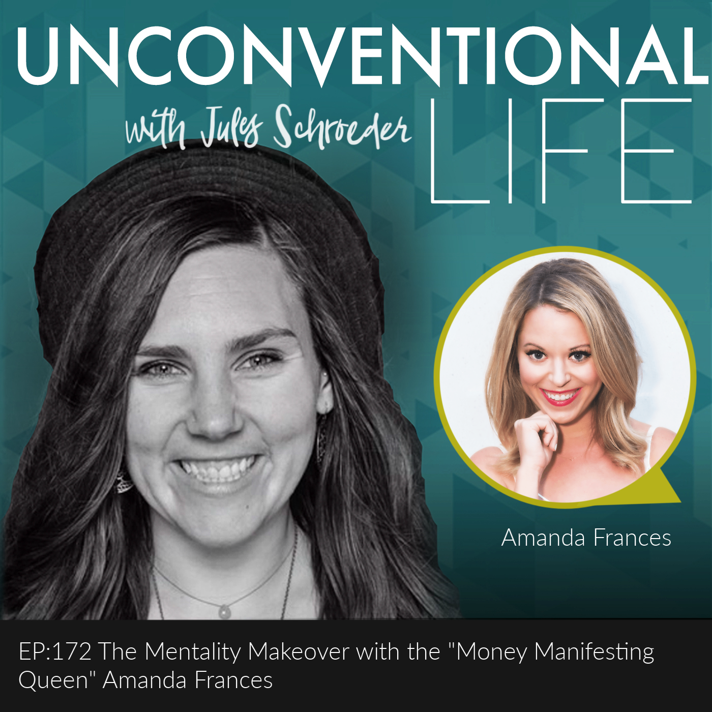 """EP: 172 The Mentality Makeover with """"Money Manifesting Queen"""" Amanda Frances"""