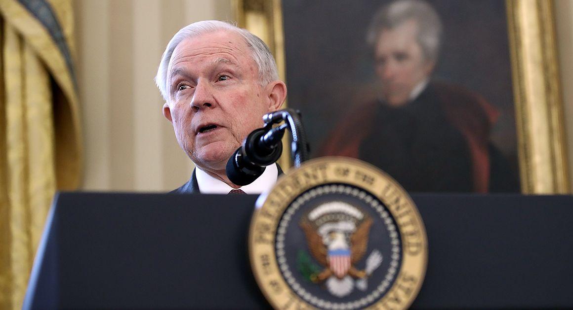 Sessions pushes tougher line on marijuana