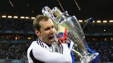 參與了Chelsea所有歐冠、歐霸決賽的 Cech