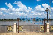 Wandering in NONG KHAI 沿著湄公河畔遊廊開