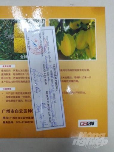 Thuốc lậu bị niêm phong tại Bắc Giang. Ảnh: Sở NN-PTNT Bắc Giang.