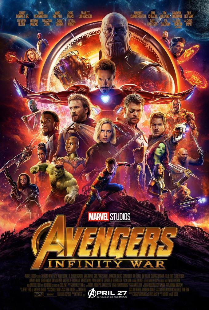 決戰Thanos!《復仇者聯盟3:無限之戰》正式預告片和海報曝光!!