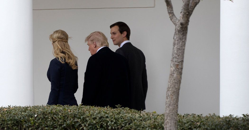 Trump Returns to Crisis Over Kushner as White House Tries to Contain It - New York Times