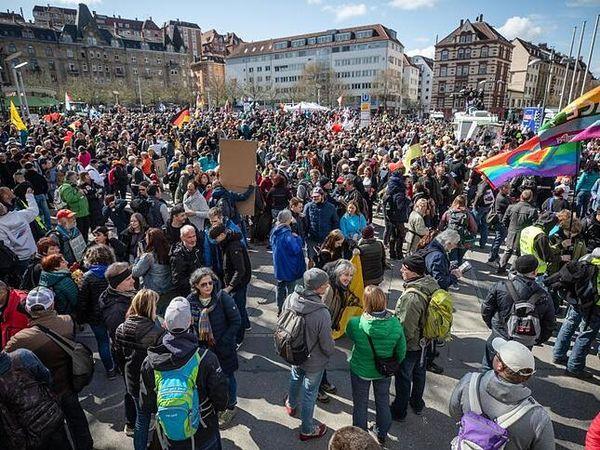 Nopper verurteilt Bruch der Auflagen bei «Querdenker»-Demo