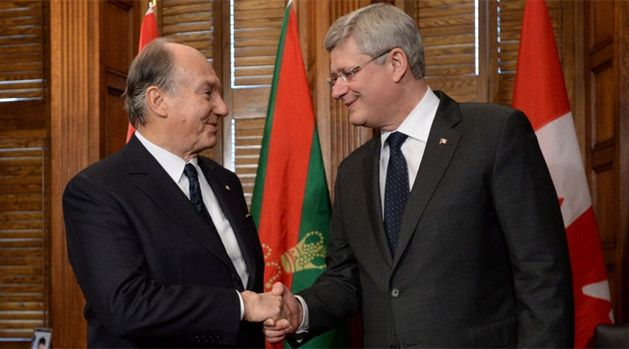 "The Aga Khan Talks ""Unity and Pluralism"" in Canada"