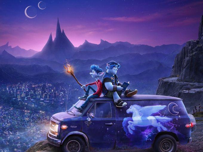 """蜘蛛俠、星爵聲演!Pixar 2020年新作""""Onward""""前導預告片曝光!!"""