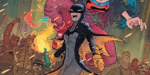 DC漫畫家回應《蝙蝠女俠》捲入中港矛盾事件