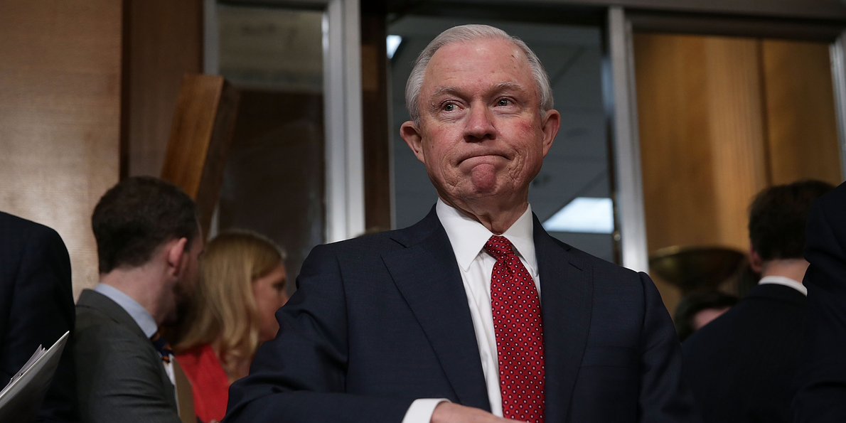 Here's how Attorney General Sessions could shut down the legal marijuana industry overnight