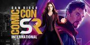 [SDCC]  Marvel史上第一套恐佈電影?!  Scarlet Witch加入  《奇異博士 2》開啟多元宇宙