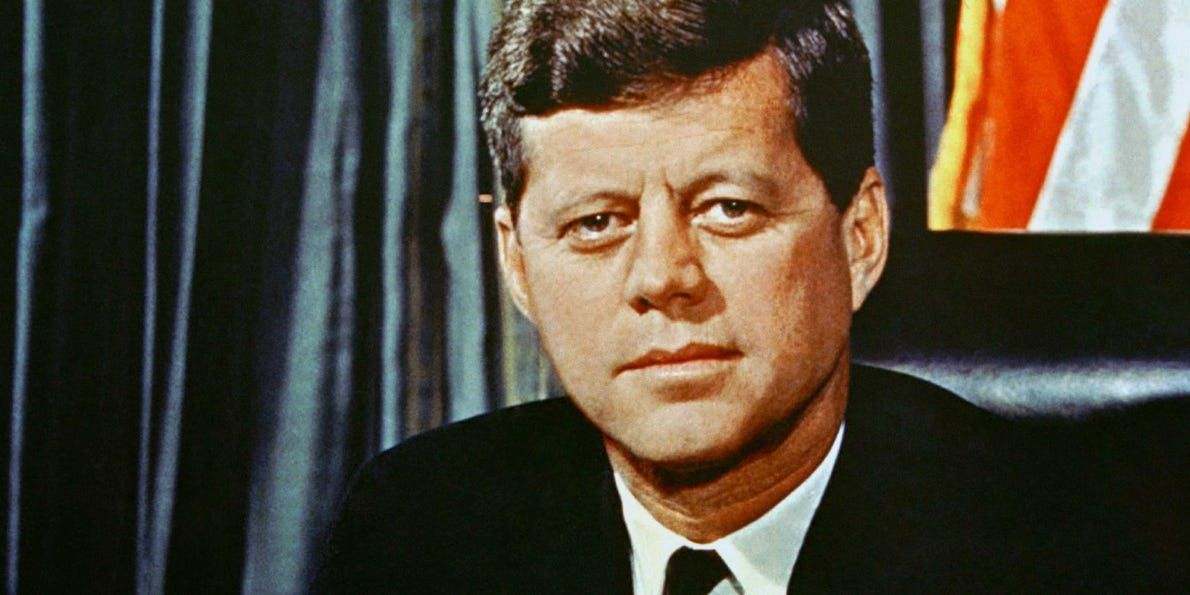 A story about JFK explains the dangers of smoking weed in the White House