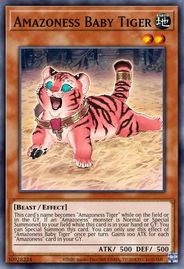 Duel Links Card: Amazoness%20Baby%20Tiger