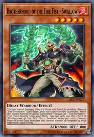 Duel Links Card: Brotherhood%20of%20the%20Fire%20Fist%20-%20Swallow